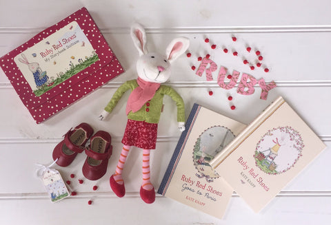 Ruby's Red Dancing Shoes - New Hampers