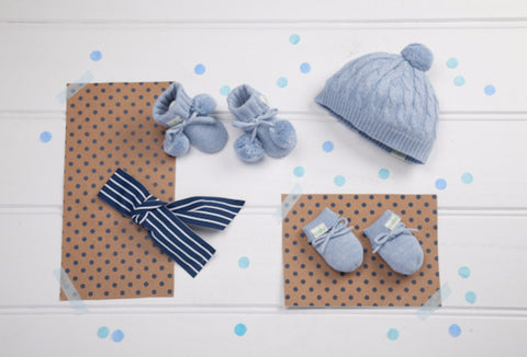 Baby's Essentials Blue - Baby Hampers
