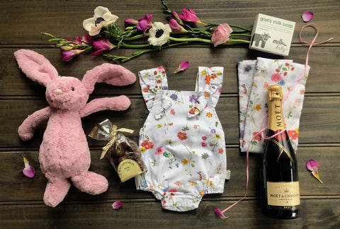 Gypsy Bubbly Bunny Luxury - Baby Hampers