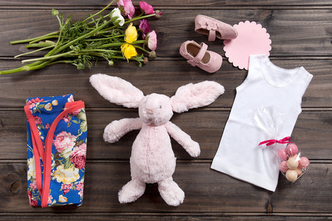 Bunny in the Garden - Baby Hampers