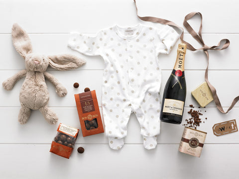 Chocolate Bunny Deluxe - Baby Hampers