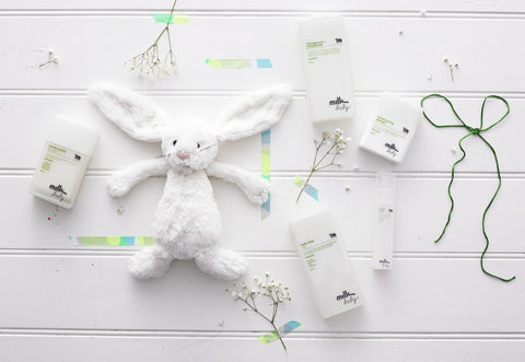 Squeaky Clean Bunny - Baby Shower Gift Hampers for Boys and Girls