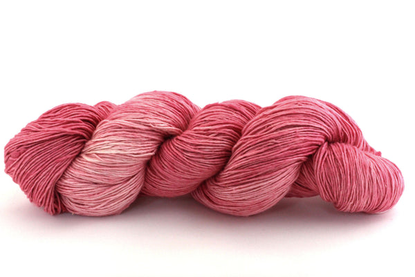 Reclaimed Silk - Lace Weight - Pink