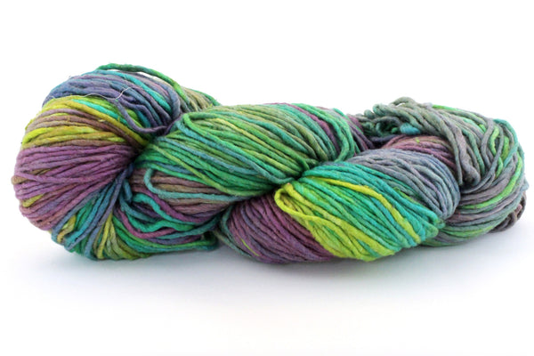 Reclaimed Silk Yarn - Wildflower
