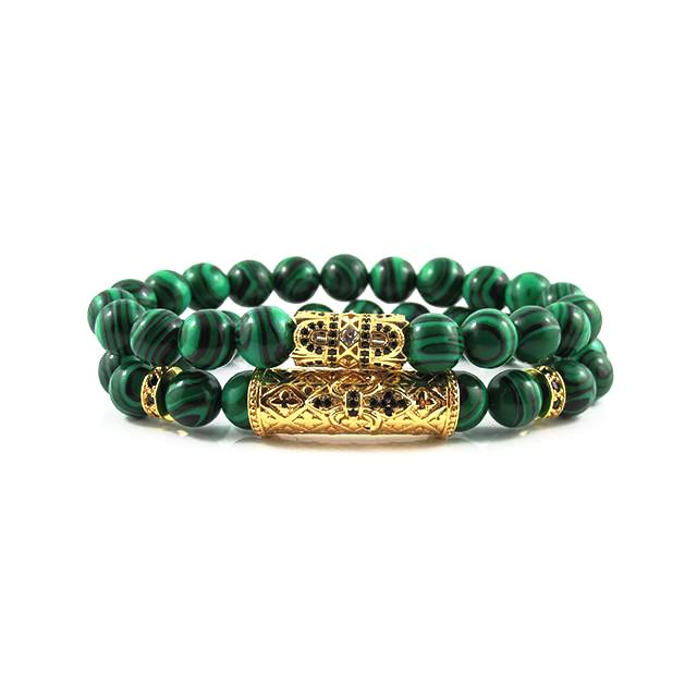 The Royal Stack | Malachite