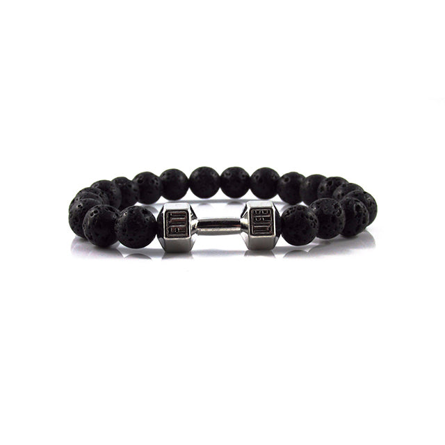 Fit Life Dumbbell | Lava Stone