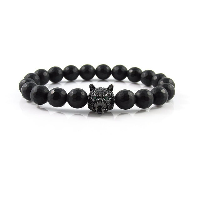 Lykaon | Faceted Matte Onyx