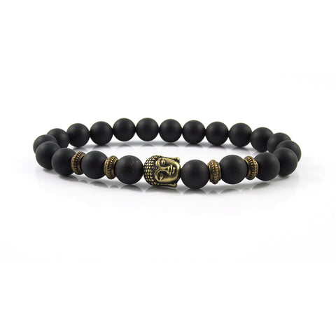 The Lucky Buddha | Matte Onyx