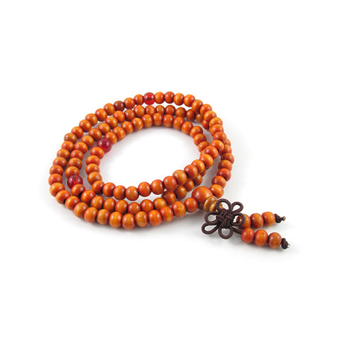 Meditating Buddha | Orange Sandalwood