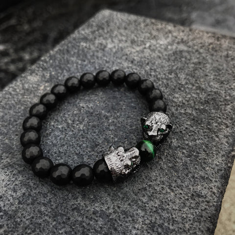 Panther's | Onyx x Green Tiger Eye