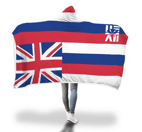 Hae Hawai'i Hooded Sherpa Blanket