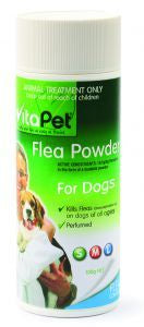 VP FLEA POWDER FOR DOGS 100G