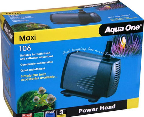 AQUA ONE 106 Maxi POWERHEAD 3000 L/HR