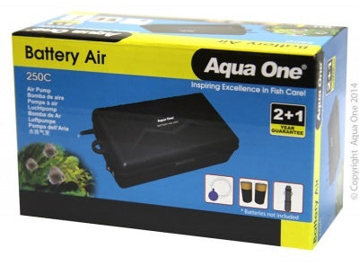 AQUA ONE 250C AIR PUMP BATTERY