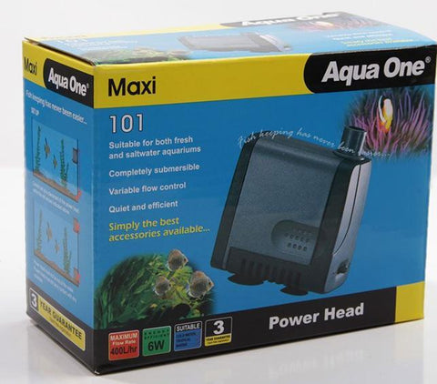 AQUA ONE 101 MAXI POWERHEAD 400 L/HR