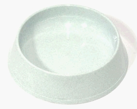 PETZ CAT BOWL GREY SPECKLE