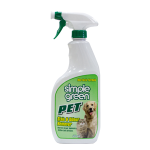 SIMPLE GREEN STAIN/ODOUR 650ML
