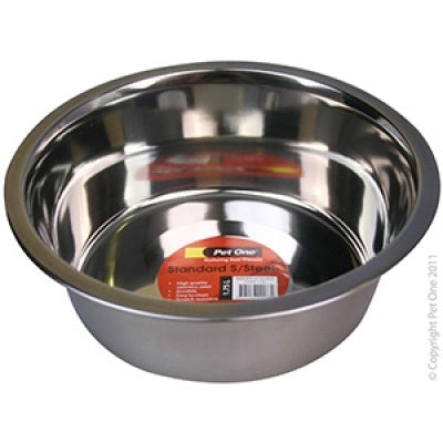 Pet One Bowl Standard Stainless Steel 1.75L