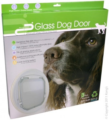DOG DOOR MANUAL GLASS FITTING PC3 VERSATILE