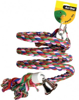 Avi One Rope Twister W Bell 50Cm (L)