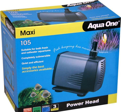 AQUA ONE 105 Maxi POWERHEAD 2500L/HR