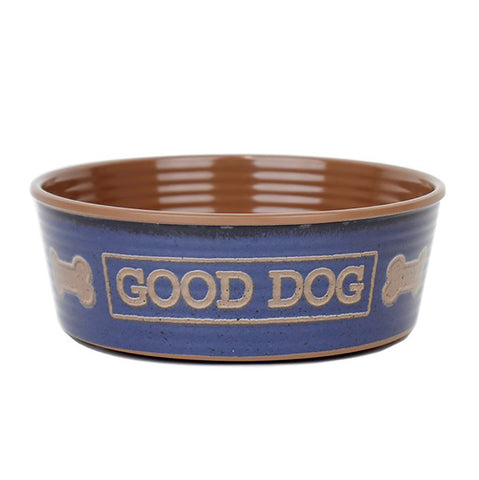 Barkley & Bella Good Dog Indigo Bowl Medium