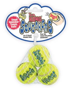 KONG AIR SQUEAKER TENNIS BALL (S)