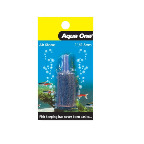 Aqua One Airstone Carded Cylinder 1""