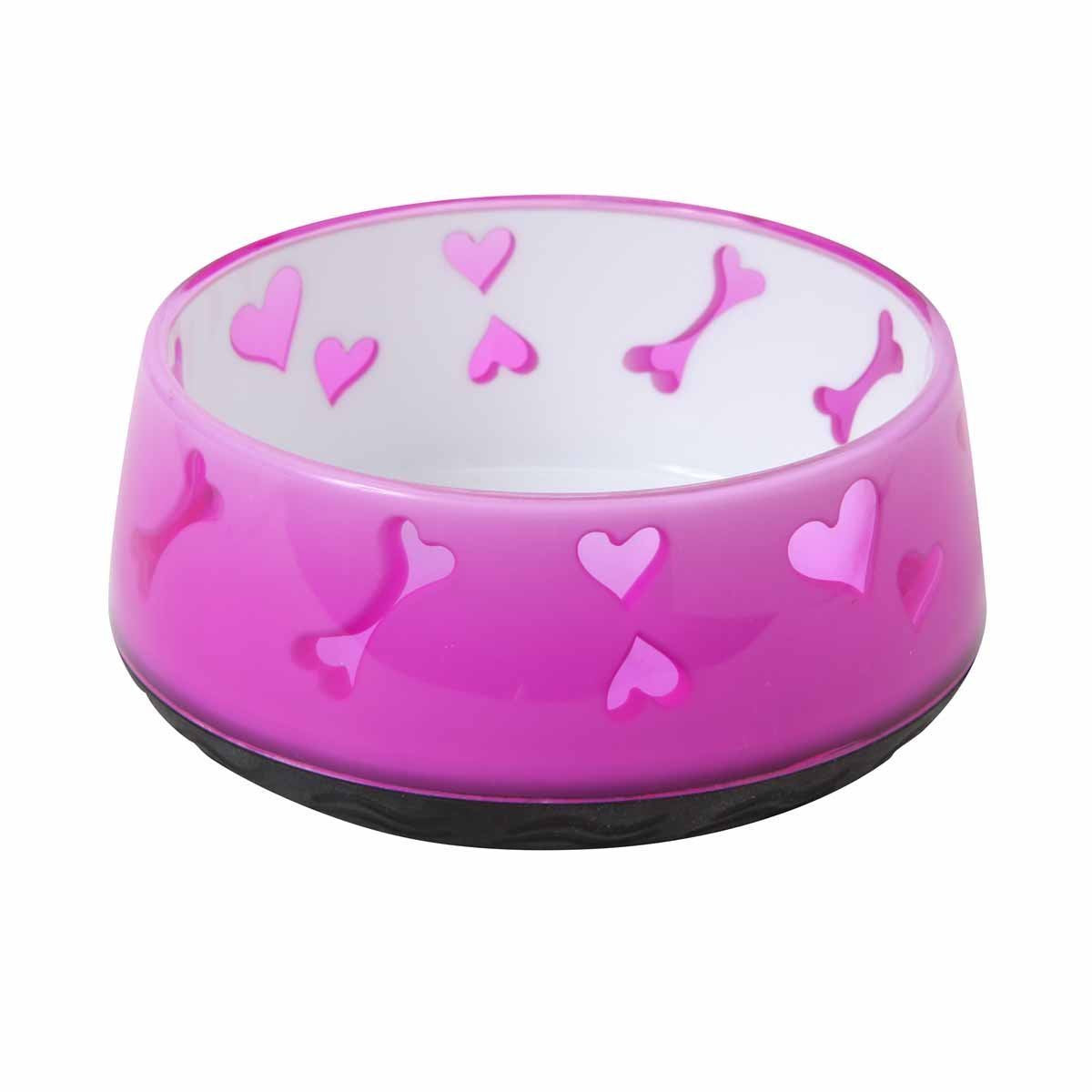 AFP Dog Love Bowl - Pink - M