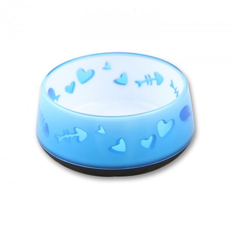 AFP CAT LOVE BOWL BLUE