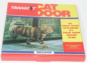 TRANSCAT CLEAR PERSPEX CAT DOOR