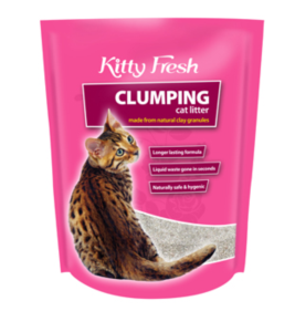 KITTY FRESH CLUMPING 10KG