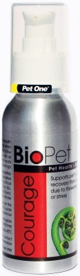 BIOPET COURAGE 90ML SPRAY BOTTLE