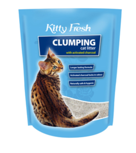 KITTY FRESH CHARCOAL CLUMPING 10KG
