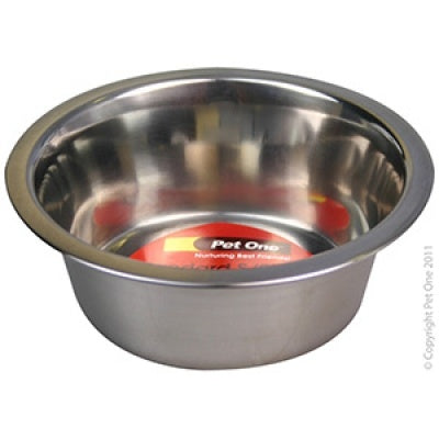 Pet One Bowl Standard Stainless Steel 350ml