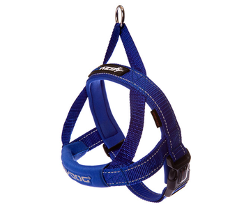 EzyDog QF Harness Blue Medium