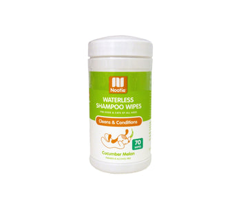 NOOTIE SHAMPOO WIPES CUCUMBER/MELON