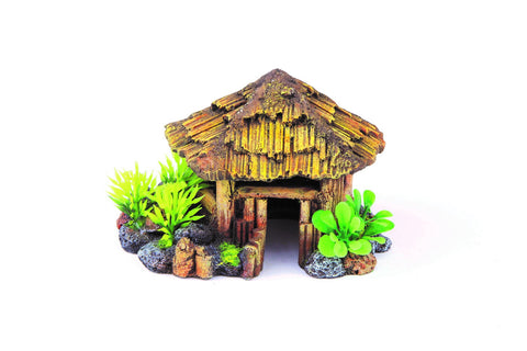 Kazoo Bali Hut With Plants Medium