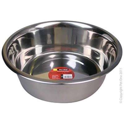 Pet one bowl - standard s/steel 4L