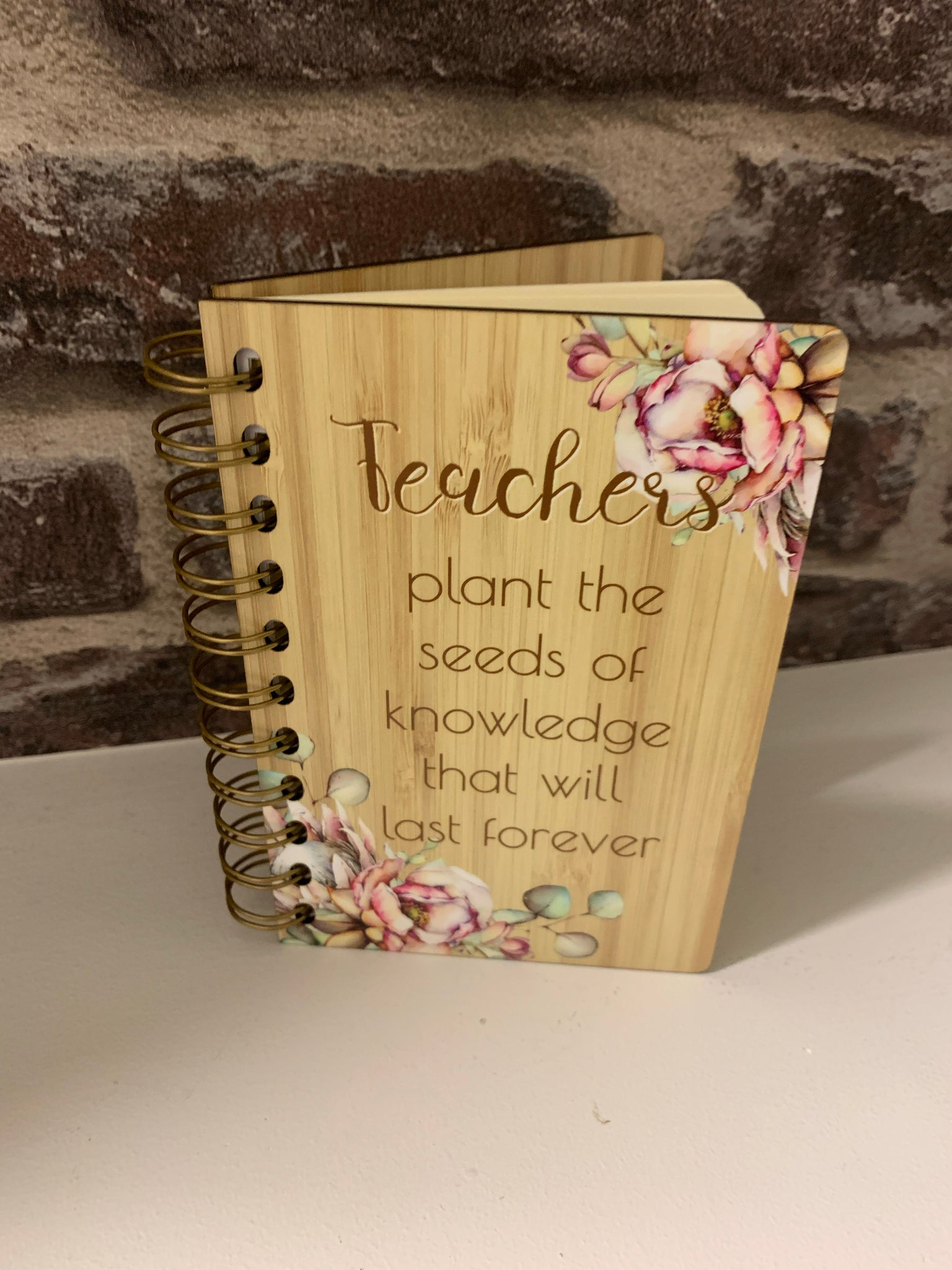 Plant the seeds notepad