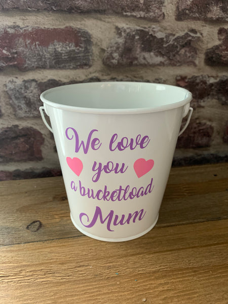 Mother's Day bucket