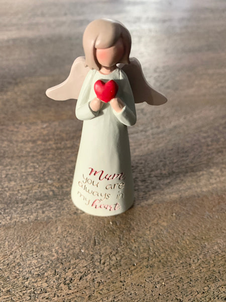 Angelic blessings mum figurine