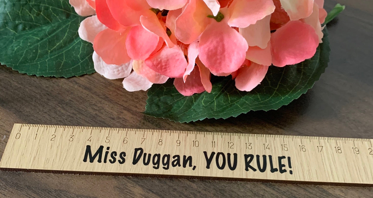 Personalised ruler