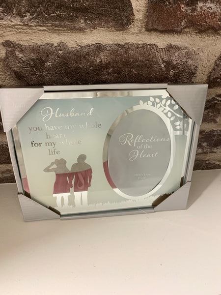 Husband photo frame