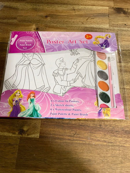 Painting activity set