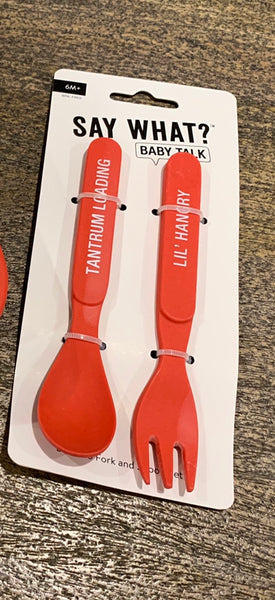 Lil hangry cutlery set