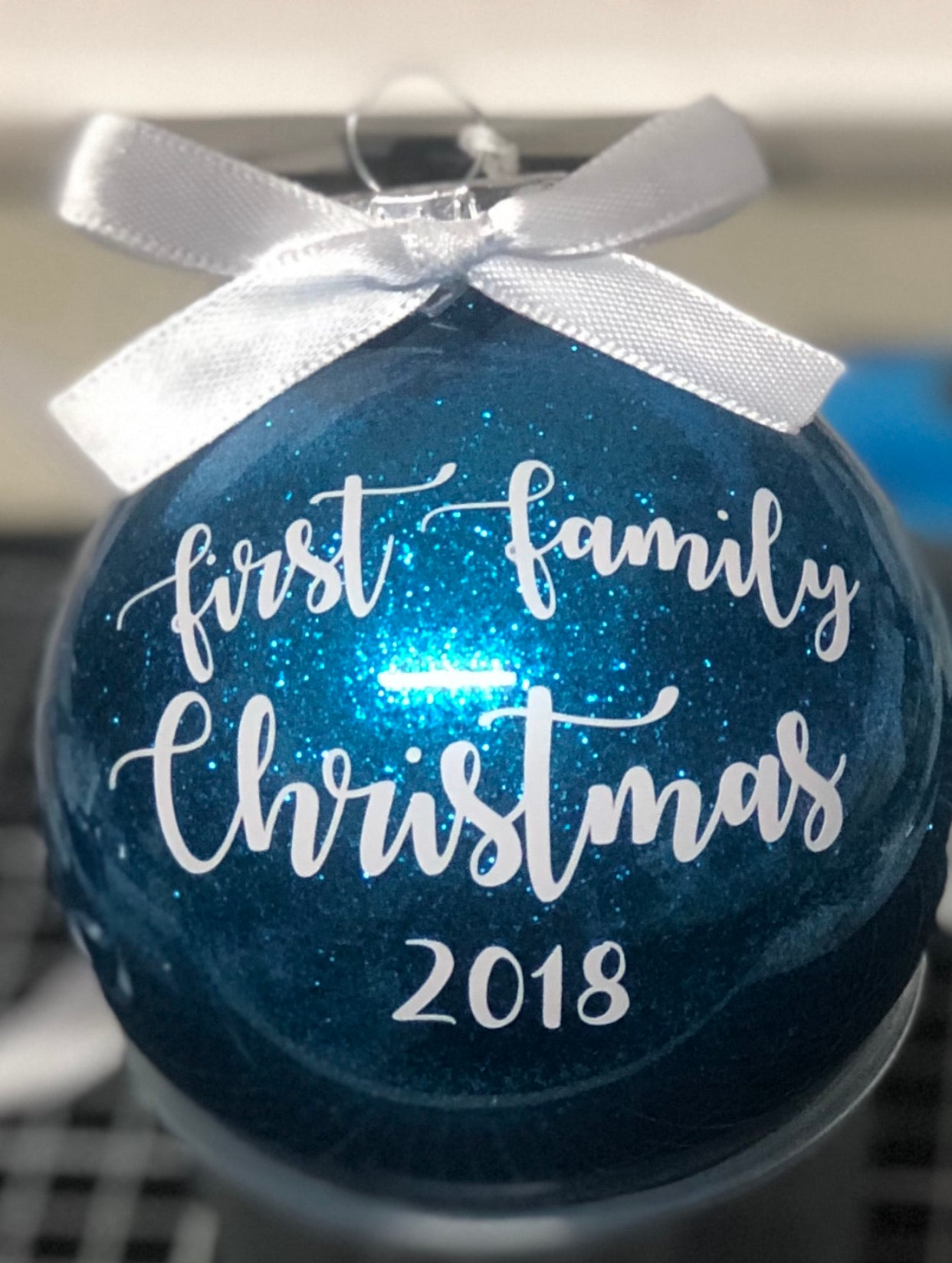 First family Christmas