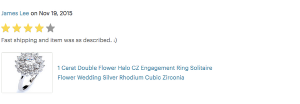 double halo cubic zirconia flower ring