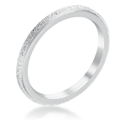 Image of Rings $20.30 Diamond Cut Stainless Steel Stackable Ring Band Steel