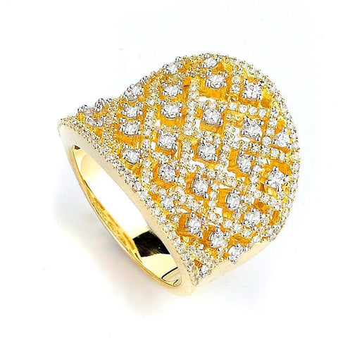 Rings $292.00 Micro Pave Cz Lace Crosshatch Wide Ring Formal Occasion Trending